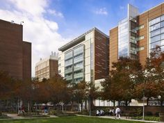 The University of Maryland Medical Center's new Shock Trauma Critical Care Tower in Baltimore was challenged with a very tight urban footprint--but Ballinger delivered. Photo: Halkin Mason Photography