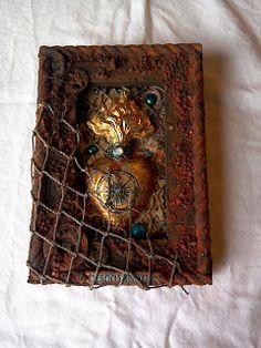 My Artistic Journey: Rusty Treasure canvas