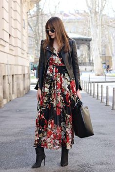 Spring Outfit from diary-of-shopaholic with Ray-Ban Sunglasses, Balenciaga Jackets, Zaful Dresses, Tod's Tote Bags, MAJE Boots Source by isasternchen dresses winter Dress Outfits, Casual Dresses, Fashion Outfits, Womens Fashion, Fashion Trends, Fashion Blogs, Fashion Hacks, Fashion Stores, Dress Fashion