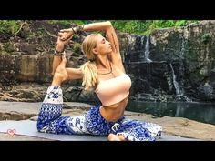 How To Get The Splits ♥ Yoga For Full Splits | 30 Day Challenge - YouTube