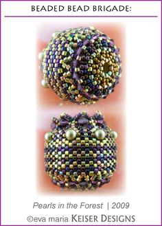 Eva Maria Keiser Designs: Beaded Bead Brigade