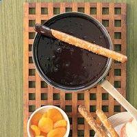 Dip everything in decadence: Chocolate Fondue.| rachaelraymag.com