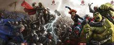 ABC diffusera de nouvelles images de Avengers L'ère d'Ultron lors du prochain épisode de #AgentsOfSHIELD #Avengers2
