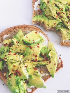 gwyneths avocado toast - thoughts by natalie one of my favorite meals!