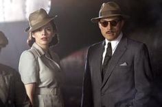 """Hayley Atwell, left, and Rufus Sewell in """"Restless."""""""