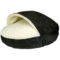 Snoozer Luxury Cozy Cave XLarge Black ** Read more reviews of the product by visiting the link on the image. This is an Amazon Affiliate links.