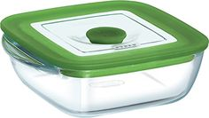 Pyrex Square Dish With Lid 11Cm