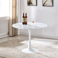 Ebern Designs Atmore Pedestal Dining Table | Wayfair Pedestal Dining Table, Dining Table Design, Dining Table In Kitchen, Round Dining Table, Small Dining Area, Table For Small Space, Butterfly Leaf Table, Traditional Dining Rooms, Contemporary Dining Table