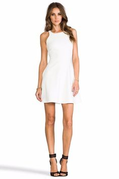 $365 Elizabeth and James Ivory Fit & Flare Mia Magdalena Dress NWT 0 E324 #ElizabethandJames #SheathFitFlare #Cocktail