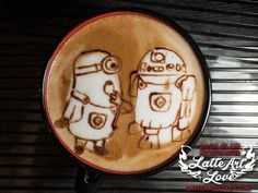 espresso bar art   Latte Art Love - Luxury Espresso Bar Catering Services, Wedding ...