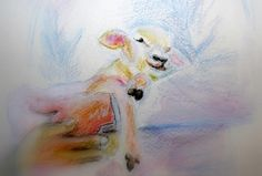 Like a Little Lamb x Print on Paper Lion And Lamb, My Love Story, Prophetic Art, Love Art, Worship, Journaling, Encouragement, Heaven, Paper