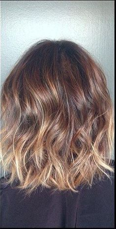 Subtle Brunette Ombre And Highlights. I Want This For My Next Hair Appointment!