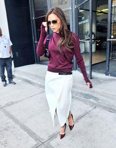 Victoria Beckham - need this skirt