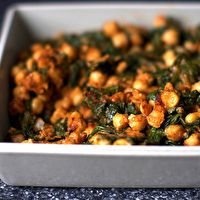 Spinach and Chickpeas by Smitten Kitchen