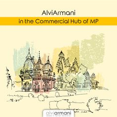 Alvi Armani -India is bringing the world-class hair restoration technique to Indore, the commercial hub of Madhya Pradesh. For more info, call us at now! Watercolor Postcard, Watercolor Sketch, Hair Transplant In India, Watercolor Architecture, Outline Art, Watercolor Projects, India Art, Madhya Pradesh, Hindu Temple