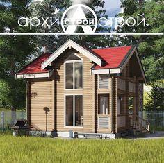 Проект индивидуального жилого дома из клееного бруса 56.4 м2 - Проекты домов во Владивостоке