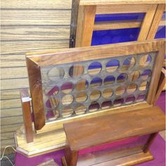 This is awesome Youtube Woodworking, Woodworking Workshop, Woodworking Plans, Woodworking Projects, Woodworking Apron, Woodworking Classes, Challenge Coin Display Case, Challenge Coins, Military Shadow Box