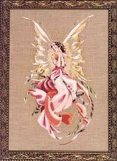 """Mirabilia Cross Stitch Chart """"Titania, Queen of the Fairies"""" #38 - New by WhimseysByAnne, $15.00"""