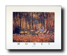 If you want to give a contemporary look to your sweet home add this beautiful Monet's day umbrella flower art print poster at your home and enjoy your surroundings. This beautiful art goes well in any room. Claude Monet was the founder of Impressionism, and one of the most influential landscape painters in the history of art born in Paris. This poster delivers a sharp vivid image with a high degree of color accuracy which ensures long lasting beauty of the poster.