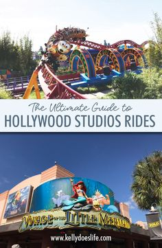 Are you planning your Disney World vacation and need help learning about the rides and attractions? Here is the complete guide to Hollywood Studio rides! Disney On A Budget, Disney Vacation Planning, Disney World Planning, Walt Disney World Rides, All Disney Parks, Disney Land, Disney Travel, Disney World Resorts, Disney Vacations