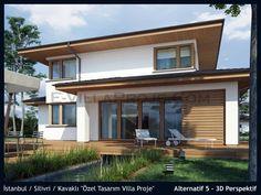 SerVilla Istanbul Silivri Kavakli Ozel Tasarim Villa Proje www.villamodelleri.com www.e-villaproje.com www.yagmahan.com