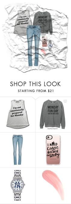 """""""Untitled #1461"""" by water-element ❤ liked on Polyvore featuring Cheap Monday, Casetify and Game Time"""