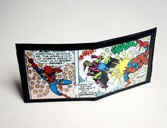 Spiderman wallet by purplecactusdesign on Etsy, $35.00
