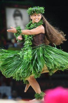 ...Traditional Hula Dress