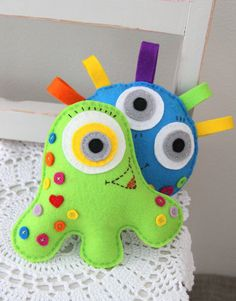 Plushka's happy felt monsters, pattern is coming soon!