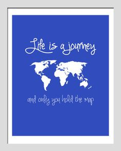 Life is a Journey #quote
