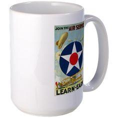 Join The Air Service Mug http://www.cafepress.com/historicmugs.971401203