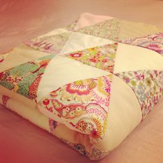 Hello kitty liberty of London quilt by sprklle47 on Etsy, $190.00 I should make one of these!