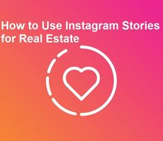 How to Use Instagram Stories for Real Estate and Get More Leads | Roomvu Academy Story Template, Story Highlights, S Stories, Instagram Story Ideas, Being Used, To Tell, Real Estate, Social Media, Real Estates