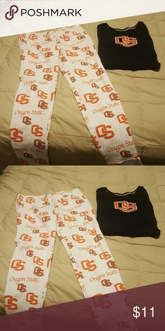 Oregon State University Cute Pjs Nike Intimates & Sleepwear Pajamas