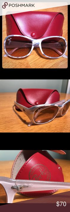 Ray-Ban 4061 Highstreet 694/3E Women's Sunglasses Description Want to update your look? Grab a pair of these fantastic Ray-Ban RB4061 Highstreet sunglasses in Pink Silver Mirror .   Technical Specifications Brand: Ray-Ban Gender: Unisex Year: 2012 Frame C