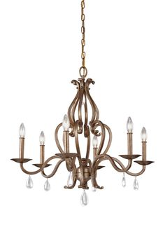 Feiss Lighting by 1STOPLighting | Celise - Six Light Chandelier