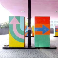 London has a new landmark, in the form of any old petrol/gas station. By Craig & Karl. | Present & Correct