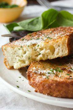 #Recipe: Savory Parmesan French Toast