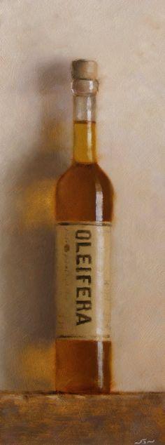 Oleifera - oil on panel. Neil Nelson.