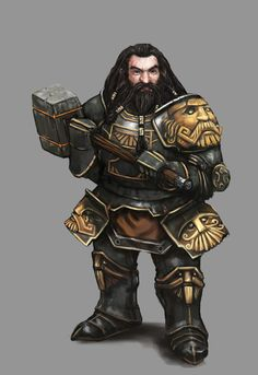 Dwarven Paladin - Algadon by Seraph777.deviantart.com on @deviantART