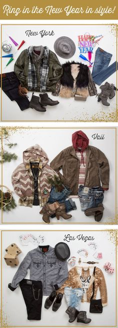 Ring in the New Year in style! Find your look at Buckle.com.