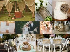wedding ribbon arch | diy rustic wedding - Google Search