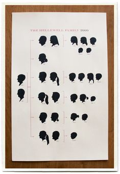 Silhouette Family Tree
