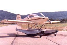 Van's RV-6 on Floats (an excellent home-built aircraft)