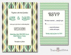 Wedding Invitation Printable  Bridal shower by tranquillina, $15.00