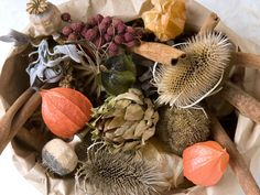 Potpourri Made From Dried Natural Materials