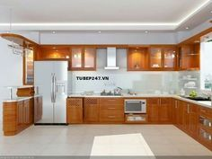The One Thing to Do for Butterscotch Glazed Kitchen Cabinets - untoldhouse Kitchen Ceiling Design, Kitchen Design Open, Kitchen Layout, Home Decor Kitchen, Interior Design Kitchen, Glazed Kitchen Cabinets, Kitchen Cupboard Designs, Modern Kitchen Cabinets, Kitchen Modular