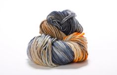 Variegated Yarn, 100% Merino Wool Thick and Thin Yarn, HAND DYED with love!