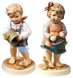 MI Hummel Summertime Friends Set Hummel Figurine 2275- 2276