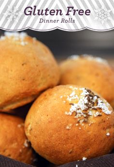 ... Holiday Recipes: Gluten Free Dinner Rolls from Chef Bryce Shuman